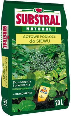 Looduslik istutus- ja külvimuld kompostiga