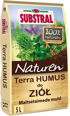 Naturen® Maitsetaimede muld Terra Humus